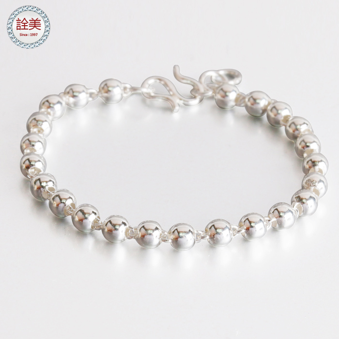 寶寶銀珠手鍊