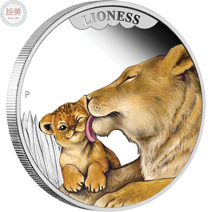母獅銀幣盒裝【1/2盎司】