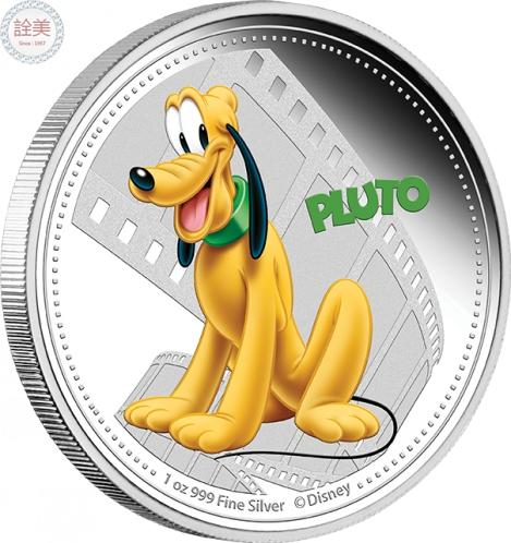 米奇與朋友們系列-布魯托銀幣