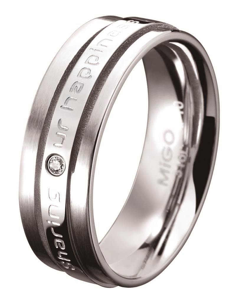 分享 白鋼CZ鑽石戒指(女戒)