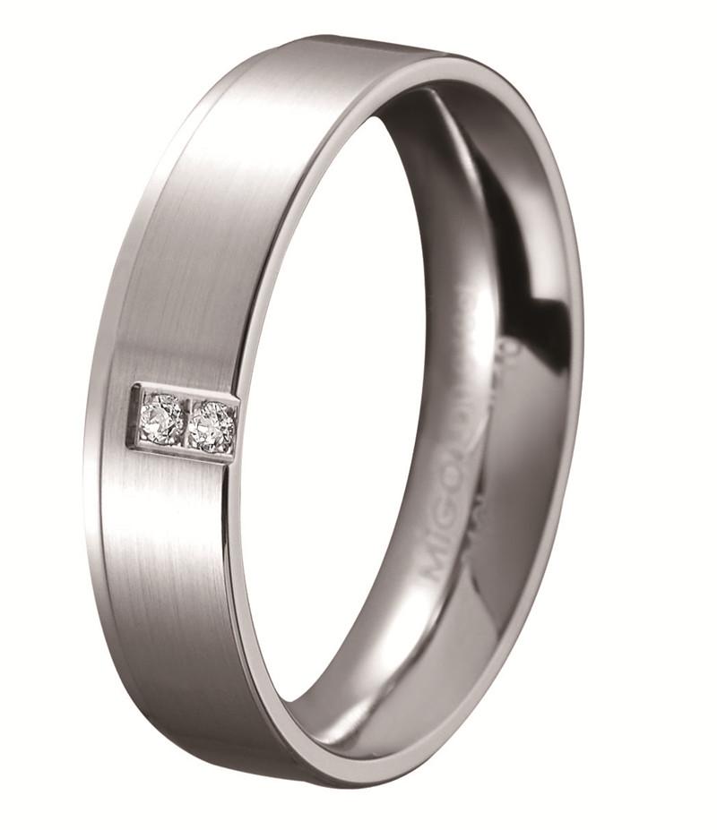承諾 Promise 白鋼鑽石戒指(女戒)