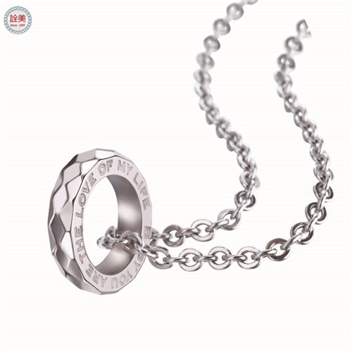 摯愛-戒指項鍊 小-托帕石