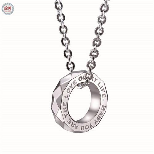 摯愛-戒指項鍊 中-藍寶石