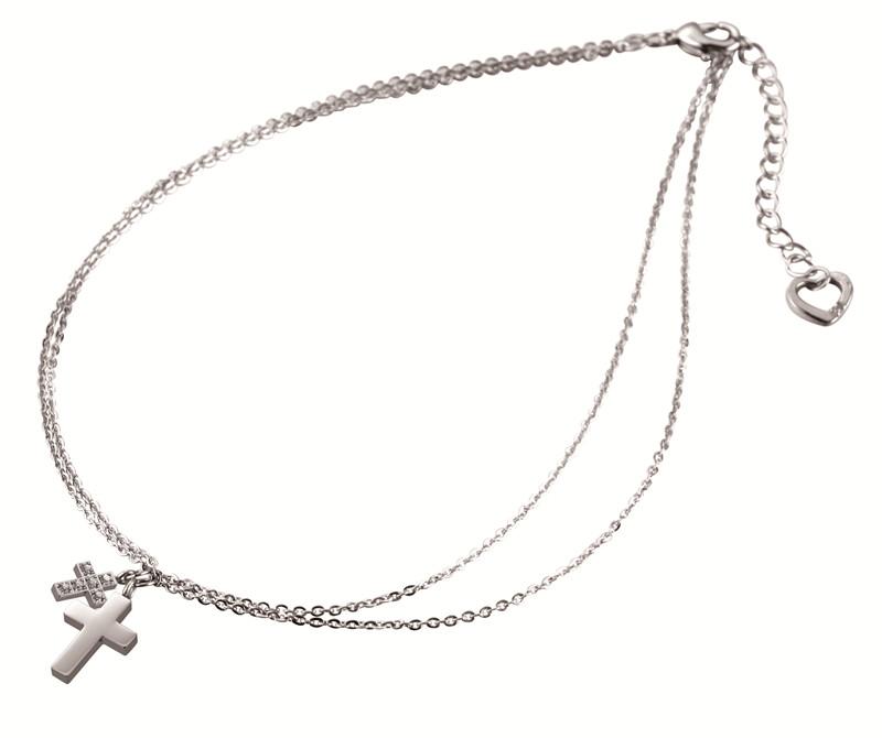 溫柔的愛 十字架項鍊