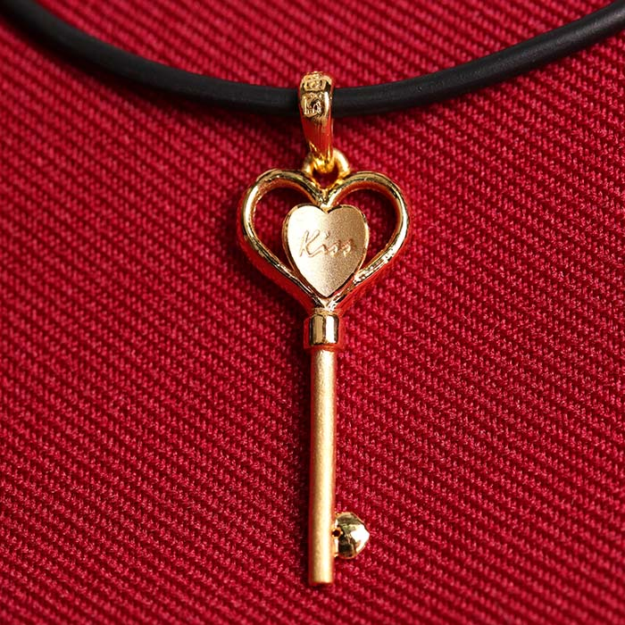 天使之鑰 黃金墜飾