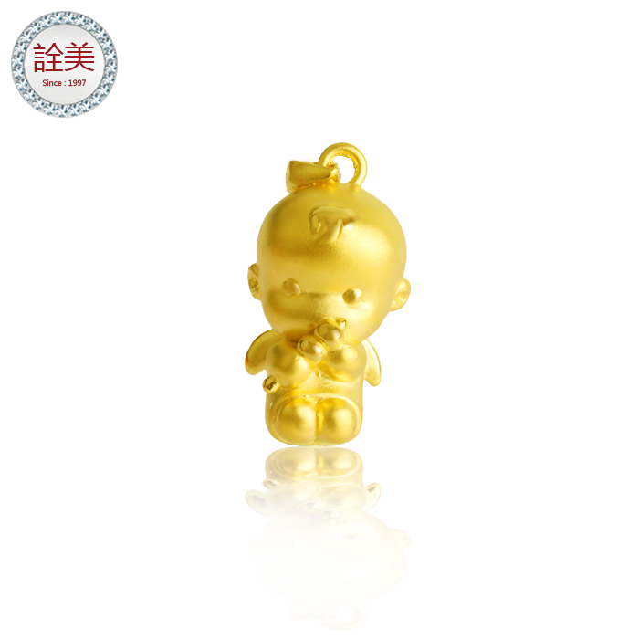 喜福金天使【3D硬黃金】