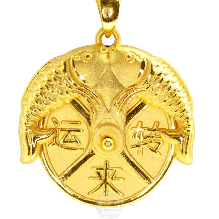 黃金墜飾【時來運轉】