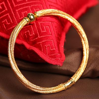 炫彩金藤手環