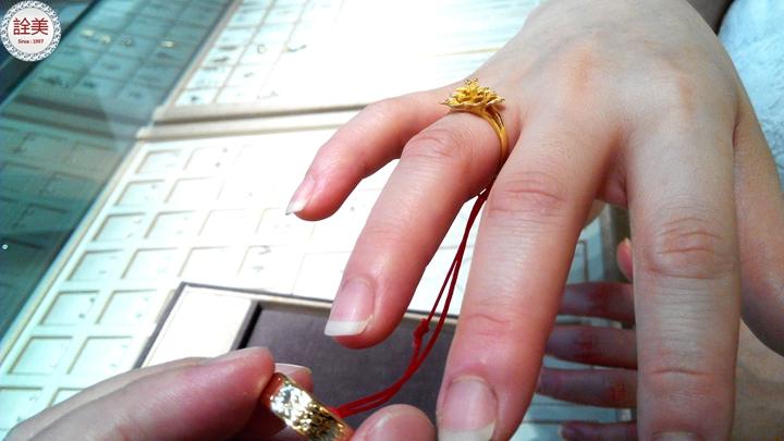 如何配戴新娘婚戒