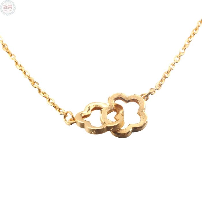 黃金造型項鍊