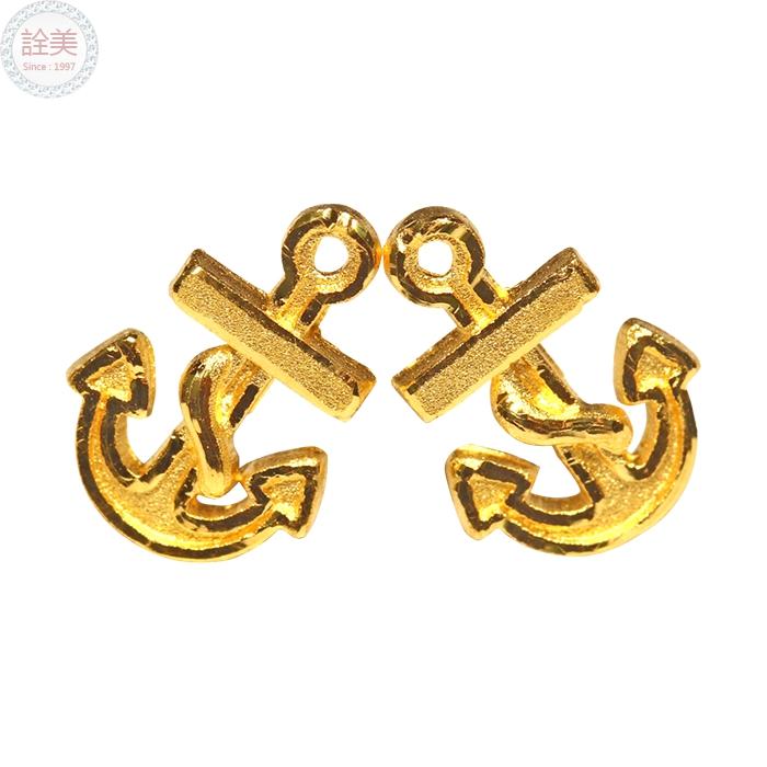 海錨黃金耳環