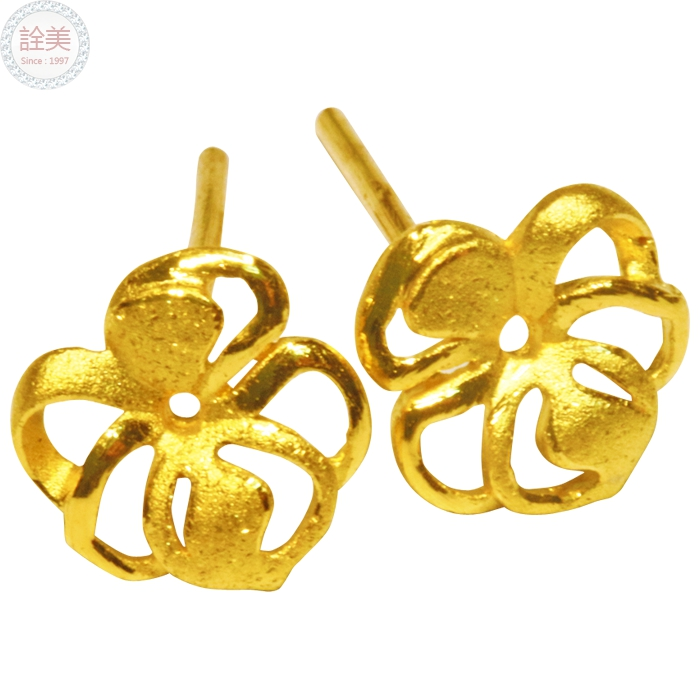 花型【黃金耳環】