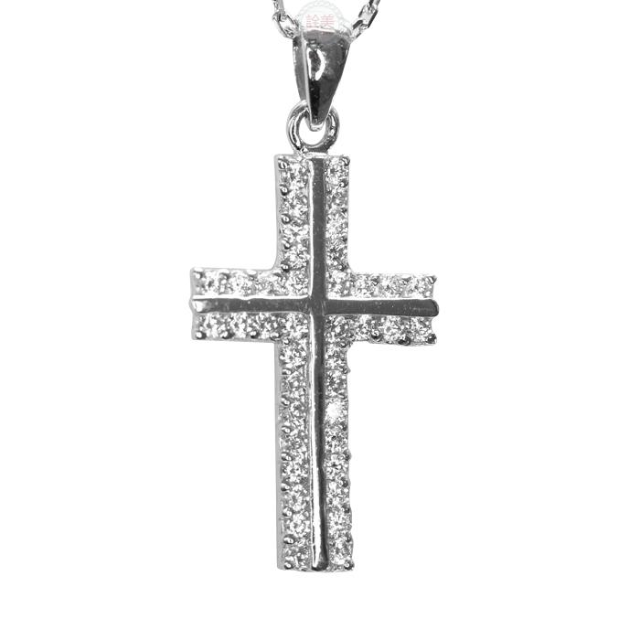 鉑金墜飾【十字架】